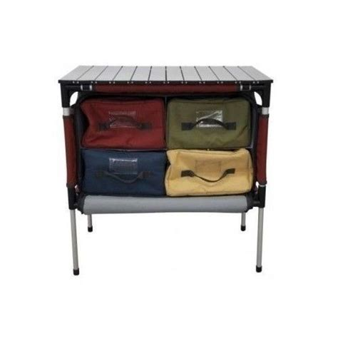 c chef sherpa table portable kitchen organizer c chef sherpa table outdoor