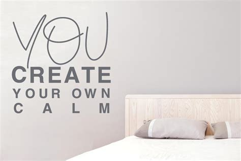 create your own wall stickers you create your own calm wall sticker
