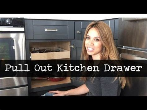 convert kitchen cabinets to pull out drawers best 25 pull out drawers ideas on kitchen