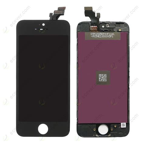 Lcd Iphone 5 Black lcd panel digitizer assembly for iphone 5 black