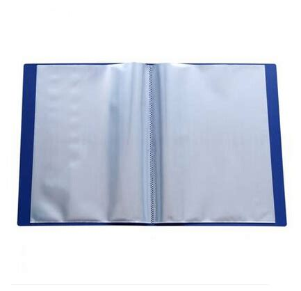 Clear Holder Vividus 60 Lembar Clear Book 60 Sheets 3pcs lot clear transparent plastic file storage folder blue for documents pocket display book a4