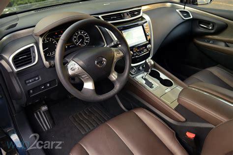 2017 nissan murano platinum interior 2015 nissan murano platinum review web2carz