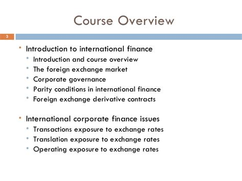 Mba Financial Management Ppt by International Financial Management Ppt Bec Bagalkot Mba