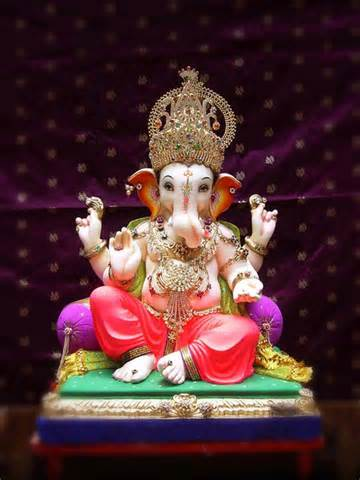 Shree Ganesh Decoration by Ganesh Chaturthi 2012 Celebrations India Big Events