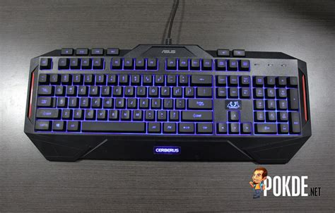 Keyboard Asus Cerberus asus cerberus gaming keyboard review spill resistant with led backlight pokde