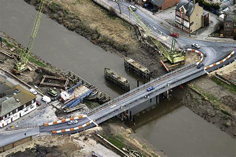 goole swing bridge goole swing bridge relieves congestion