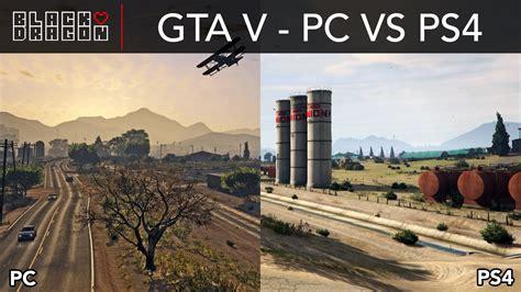 Pc Gaming Gta V Design gta 5 pc ve playstation 4 grafik karşılaştırması
