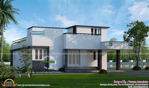 one floor house 1000 sq ft 2 bed room villa kerala home design and