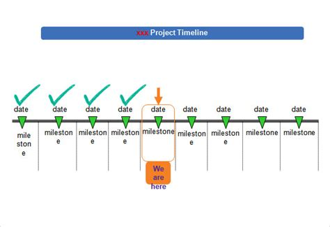 Simple Timeline Template 10 Download Free Documents In Pdf Word Excel Ppt Free Simple Project Timeline Template Excel