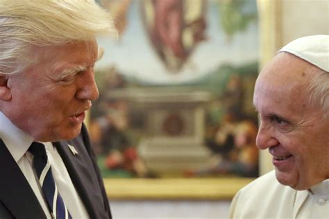trump pope francis see what happened when trump met pope francis on his first