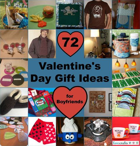 valentine day gifts for boyfriend 72 valentine s day ideas for boyfriend favecrafts com