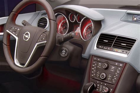 Opel Astra 2011 Interior by 2011 Opel Vauxhall Meriva Interior Revealed Autotribute