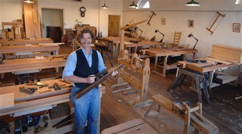 Roy Underhill Opens New Woodworking School In