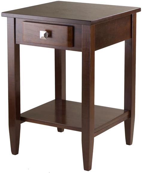 walnut end table richmond antique walnut end table 94118 winsome
