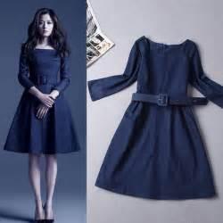 vestidos de moda 187 vestidos de mezclilla 4