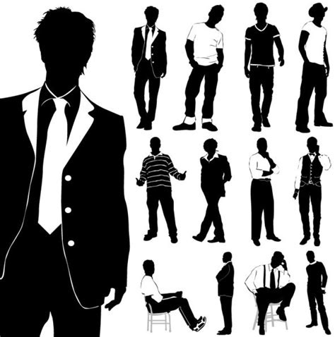 fashion clipart free clip fashion model silhouette free vector