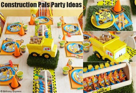 construction themed birthday supplies construction themed birthday party ideas birthday party