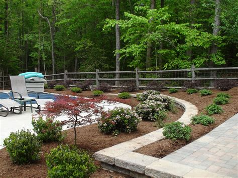 Completed Works Aeration Seeding Lawn Maintenance Landscaping Durham Nc