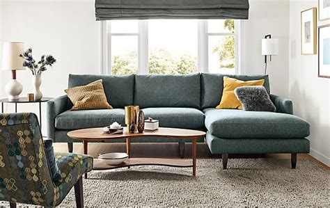 room and board furniture canada jasper sofa with chaise modern living room furniture room board