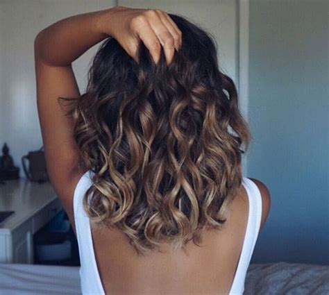 does your hair get looser or curlier with length curly how to get loose curls with a straightener