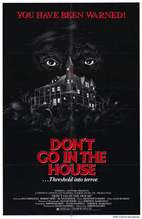 in the house film don t go in the house movie posters from movie poster shop