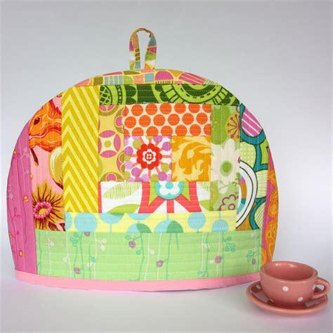 Patchwork Tea Cosy - quilted patchwork tea cosy secret golden squirrel of