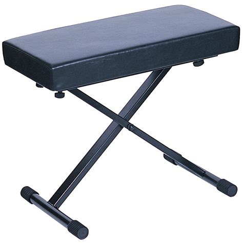 kinsman keyboard bench black from rimmers music