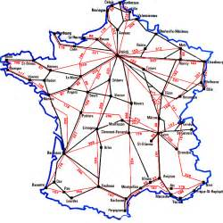 France Train Map by Maps Of France Bonjourlafrance