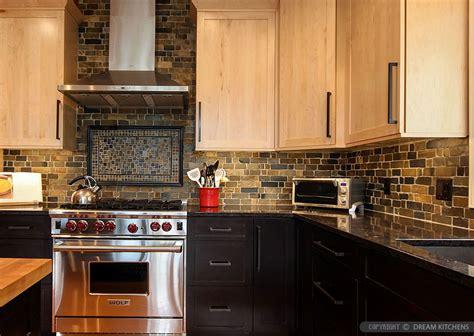 slate kitchen backsplash brown slate mosaic subway backsplash tile backsplash