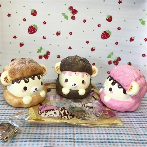 Squishy Puff jumbo yummiibear puff squishy creamiicandy shop
