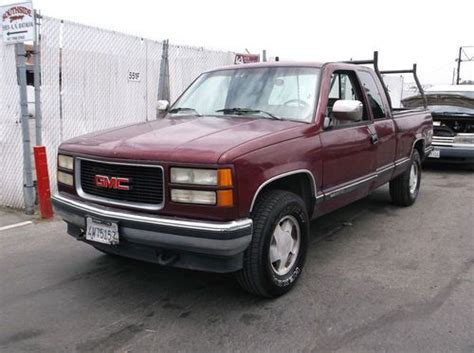 how can i learn about cars 1994 gmc 3500 lane departure warning purchase used 1994 gmc sierra 1500 no reserve in orange california united states