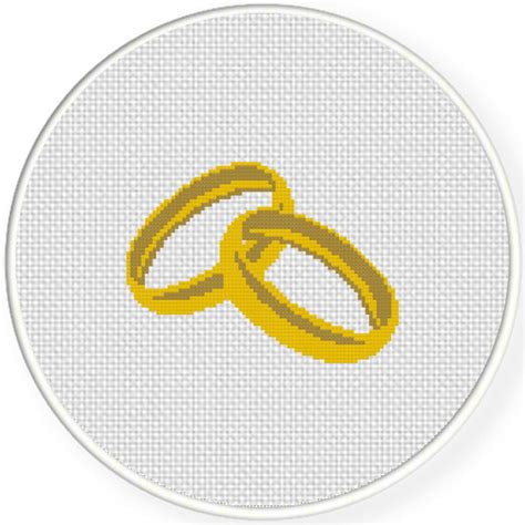 wedding ring daily wedding ring cross stitch pattern daily cross stitch