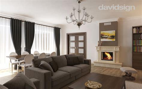 Casa Interior Design by Design Interior Clasic Cu Modern Davidsign