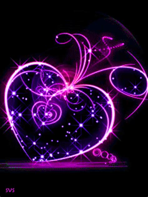 imagenes de corazones brillantes y estrellas con movimiento im 225 genes de amor con movimiento corazones rosas flores