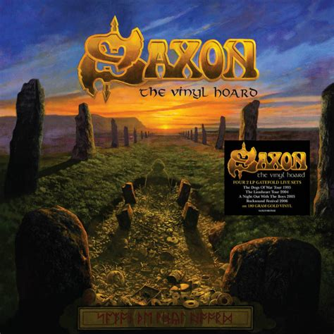 Its Okay October 2006 Cds And Bringing Back by Saxon Live Recordings To Be Released As The Vinyl Hoard