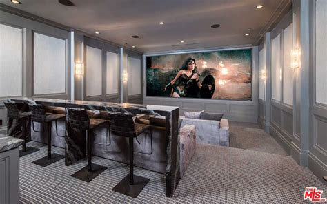 home theatre design los angeles lebron james just dropped 23 million on this l a mansion