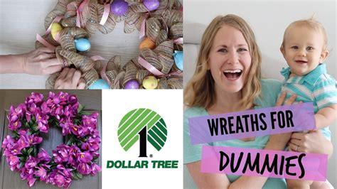 spring tutorial youtube kaushik how to make dollar tree diy wreaths easiest tutorial