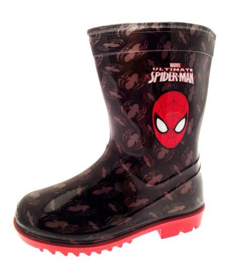 boys marvel snow winter boots wellies