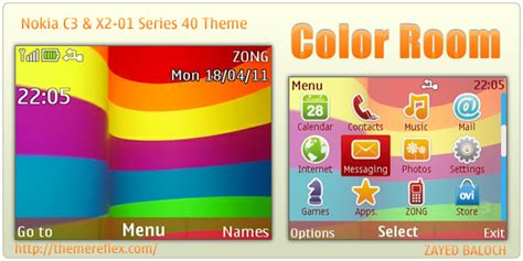 theme maker for c3 color room theme for nokia c3 x2 01 themereflex