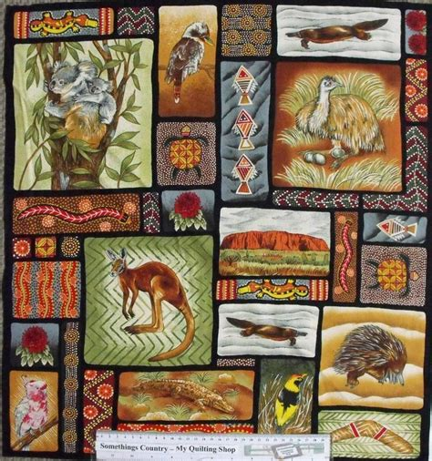 Patchwork Panels - quilting patchwork sew fabric australian aboriginal
