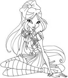 winx club bloom bloomix coloring pages bloomix bloom elfkena winx club mythix coloring pages