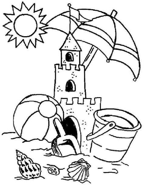 Summer Coloring Pages Printables Az Coloring Pages Summer Colouring Pages To Print