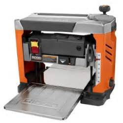 home depot planer ridgid 13 in thickness corded planer r4331 the home depot