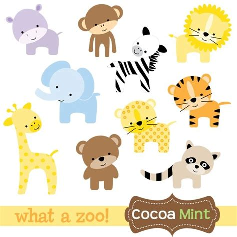 free printable zoo animal clipart printables zoo animals dibujos pinterest search