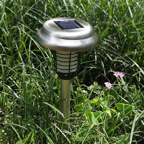 Lu Taman Tancap Tenaga Surya Anti Nyamuk Dan Serangga lu taman panel surya