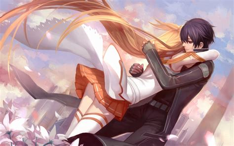wallpaper hd couple hug anime love background wallpapers for your desktop and