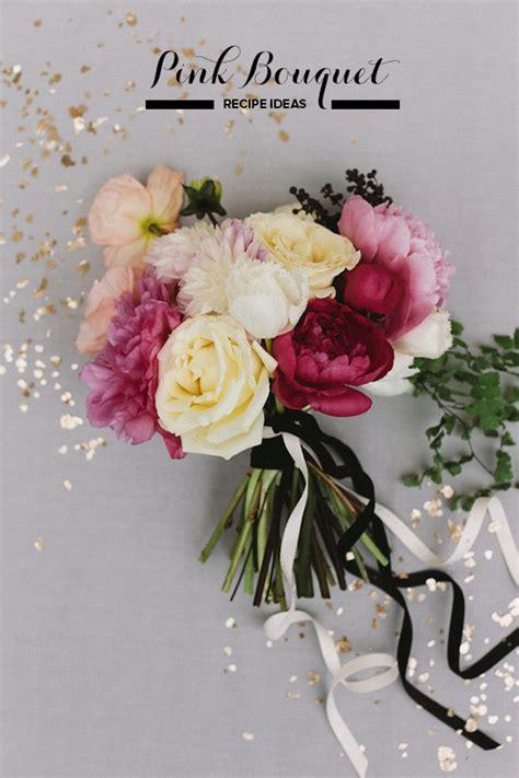 Simple Wedding Bouquets by Simple Pink Bouquet Recipe Diy Bridal Bouquet 100