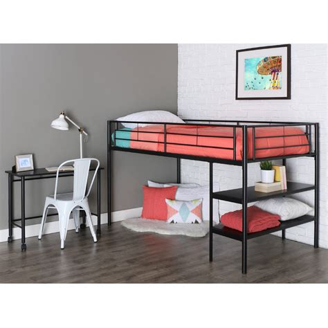full size bunk bed with desk full size loft bed with desk underneath large size of bunk