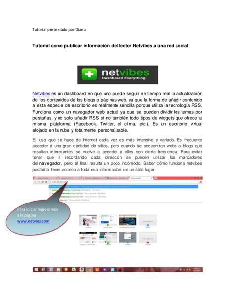 nat tutorial ppt tutorial netvibes en redes sociales
