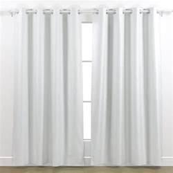 White Panel Curtains Montego 48 X 84 Inch Grommet Curtain Panel White Ebay